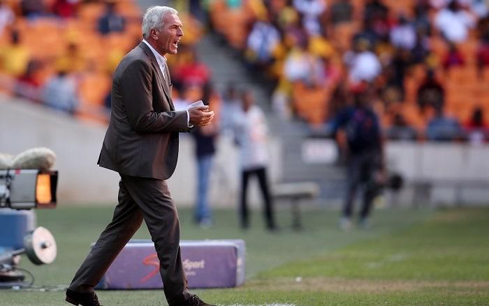 Ernst Middendorp, coach of Kaizer Chiefs