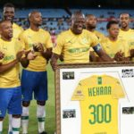 Watch: Kekana celebrates his 300th game for Sundowns