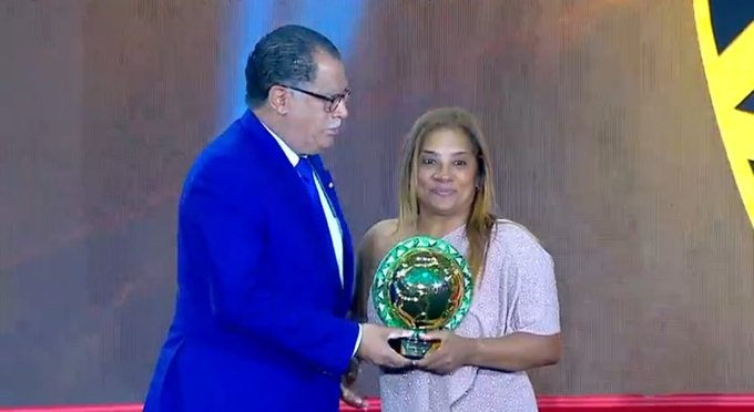 In pictures: Ellis crowned African Women's Coach of the Year