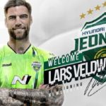 Lars Veldwijk joins South Korean giants, Jeonbuk Hyundai Motors