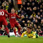 Mane strike fires Liverpool past Norwich