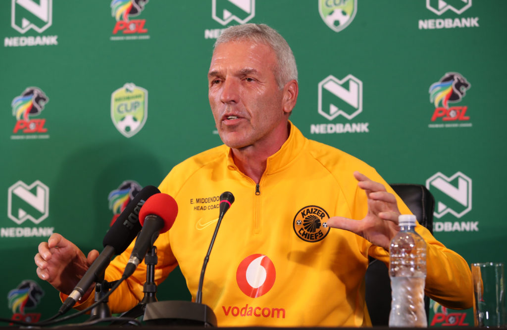Middendorp: Nedbank Cup can be tricky
