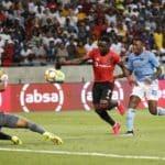 Mhango fires Pirates into second
