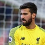 Alisson Becker of Liverpool