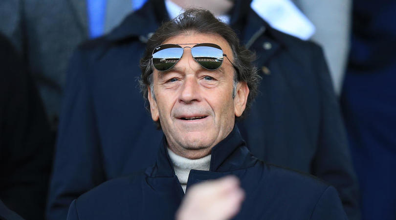 Leeds United and Brescia owner Massimo Cellino