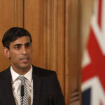 Chancellor Rishi Sunak speaking at a media briefing in Downing Street, London, on Coronavirus (COVID-19).
