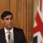 Chancellor Rishi Sunak speaking at a media briefing in Downing Street, London, on Coronavirus (COVID-19).