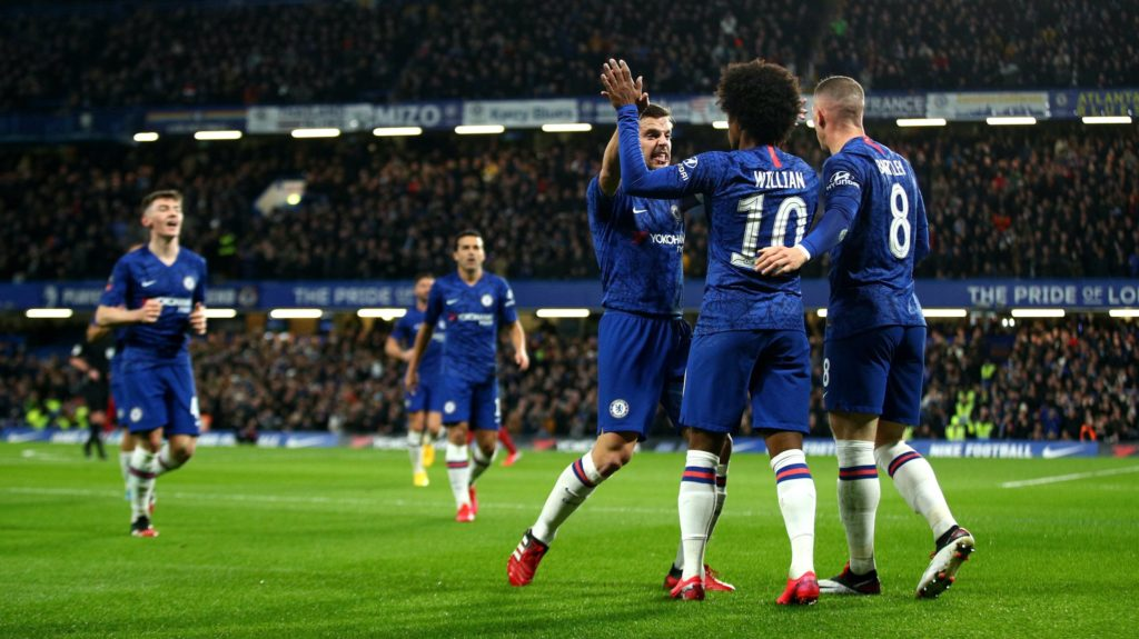 Chelsea stun Liverpool to reach FA Cup quarters