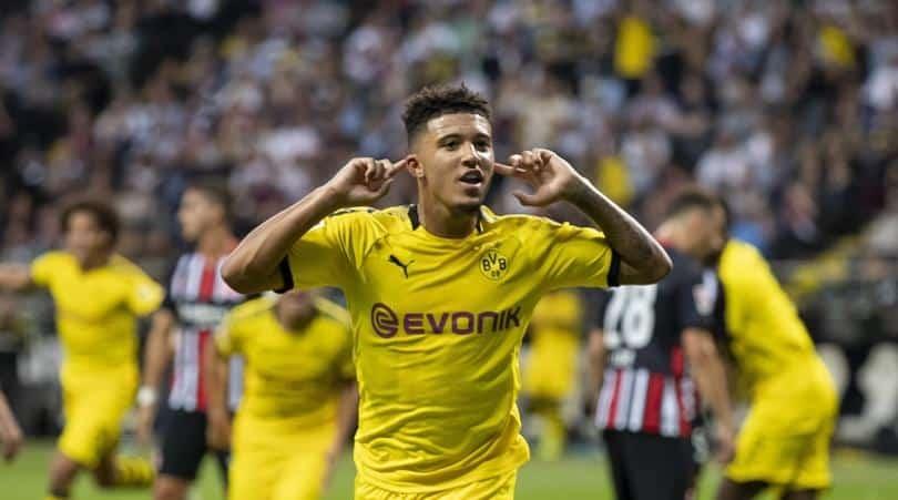 Dortmund happy to keep under-contract Man Utd target Sancho