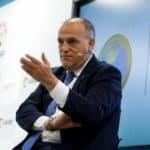 Spanish Professional Soccer League's President, Javier Tebas