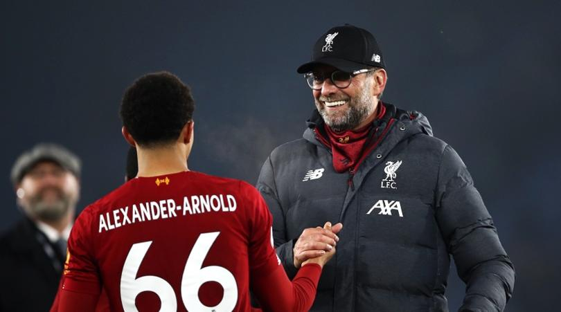 Liverpool not putting time frame on Alexander-Arnold calf injury
