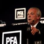 Chief Executive of the PFA Gordon Taylor
