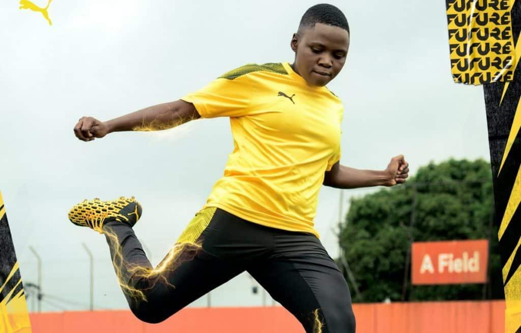 WIN: Pair of boots signed by Banyana star Rhoda Mulaudzi