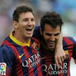 Messi will finish his career at Barcelona, says Fabregas