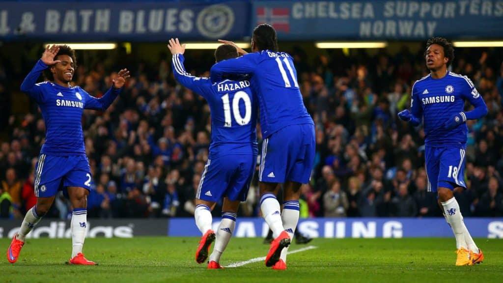 Drogba lured Hazard to the Premier League