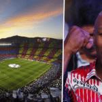 Camp Nou and Tyson