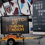 West Ham announce player wage deferrals, cuts during shutdown