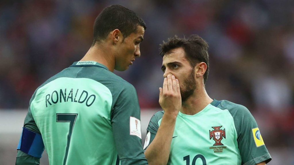 Even in training, it's always him! - Bernardo Silva reveals what makes Ronaldo so special