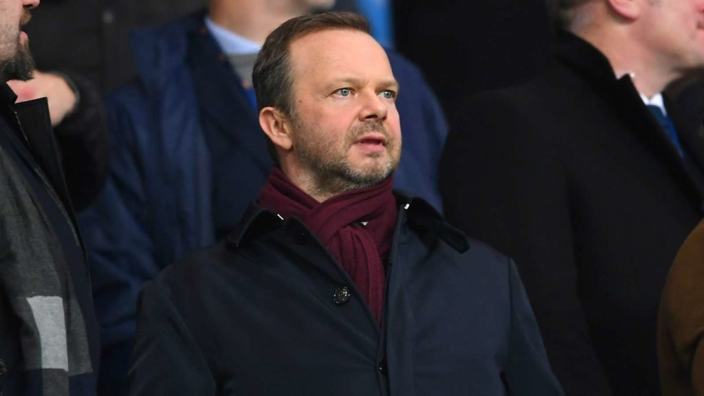 Ed Woodward resigns as Man Utd executive vice-chairman