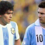 'Messi is top but Maradona is another world'