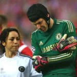 Cech played with two broken shoulders prior to fracturing his skull