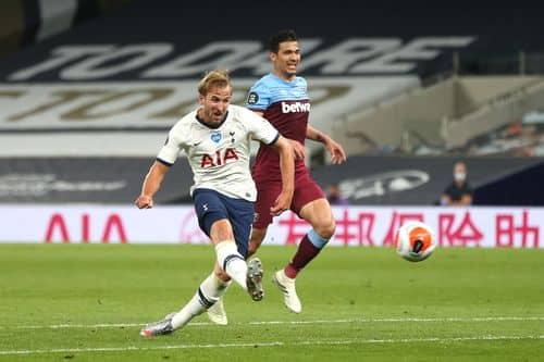 Kane on target as Spurs sink West Ham