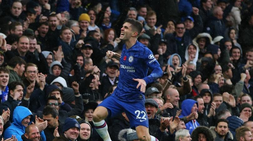 Pulisic has the talent to score goals like Salah, Mane or Sterling - Lampard