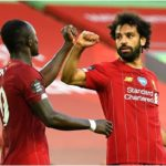 Salah and Mane of Liverpool