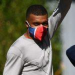 PSG star Mbappe