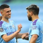 Foden and Aguero Manchester City