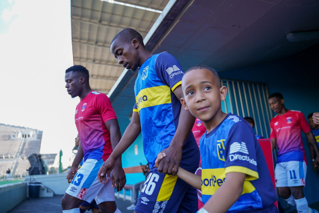 Cape Town City players score off-pitch skills