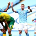 Man City thrash Norwich on final day
