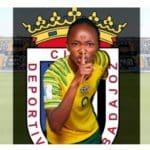 Banyana's Mthandi makes her way to Spain