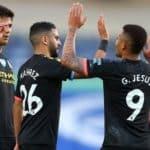 Sterling hits hat-trick as Man City run riot