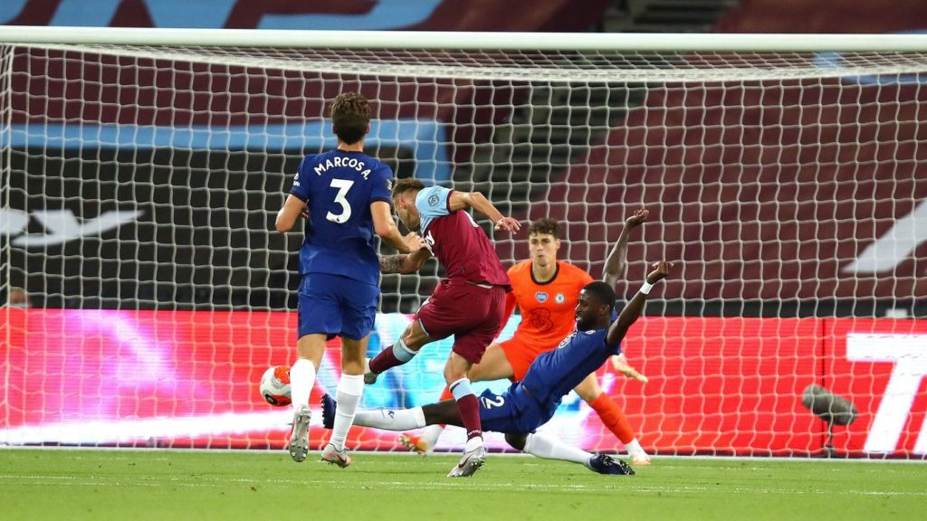 West Ham stun Chelsea in derby thriller
