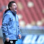 Dylan Kerr, coach of Baroka