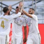 Benzema double secures 34th LaLiga title for Real