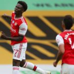 Saka, Lacazette fire Arsenal past Wolves