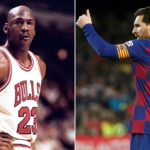 Messi falling into the 'Jordan Rules' trap