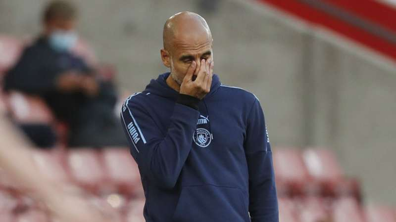 Guardiola warns Man City against another UCL collapse