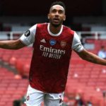 Aubameyang strikes twice as Hornets go down
