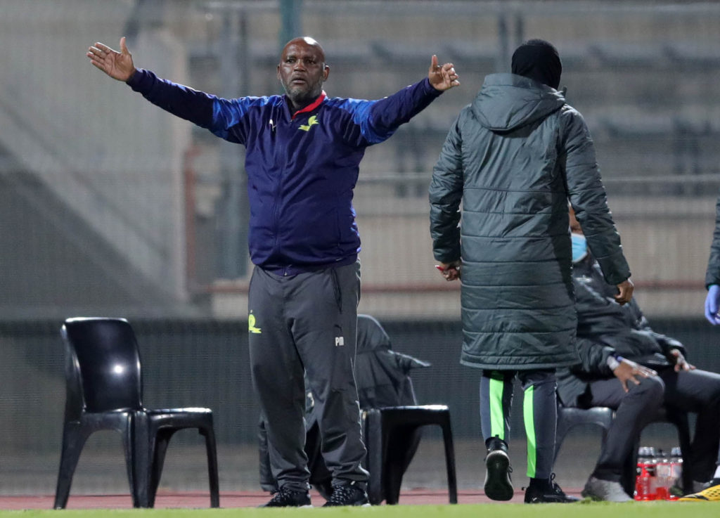 Mosimane: We're just chasing, league in Chiefs' hands