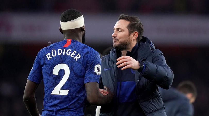 Rudiger: Lampard has sent 'clear message' to Chelsea squad