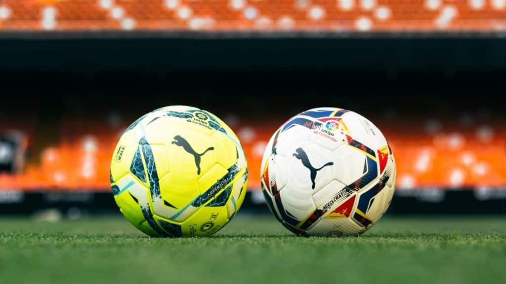 PUMA unveils Accelerate, Adrenalina LaLiga official match footballs