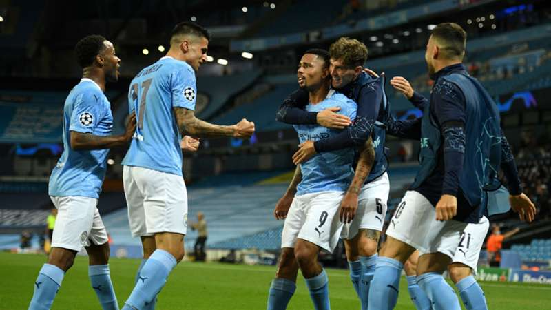 Sterling, Jesus on target as Man City beat Real Madrid to seal UCL progression