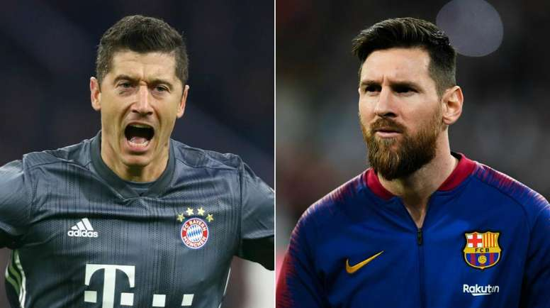 Muller urges Lewandowski to answer Messi comparison