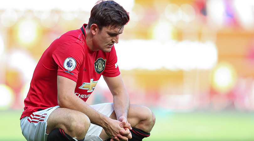 Solskjaer says Maguire does not want to 'hide' from firing line