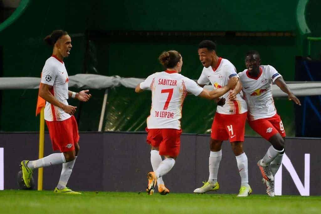 RB Lepizig stun Atletico to seal Champions League semi-final spot