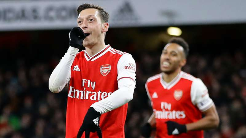 Mesut Ozil's best moments in Arsenal shirt