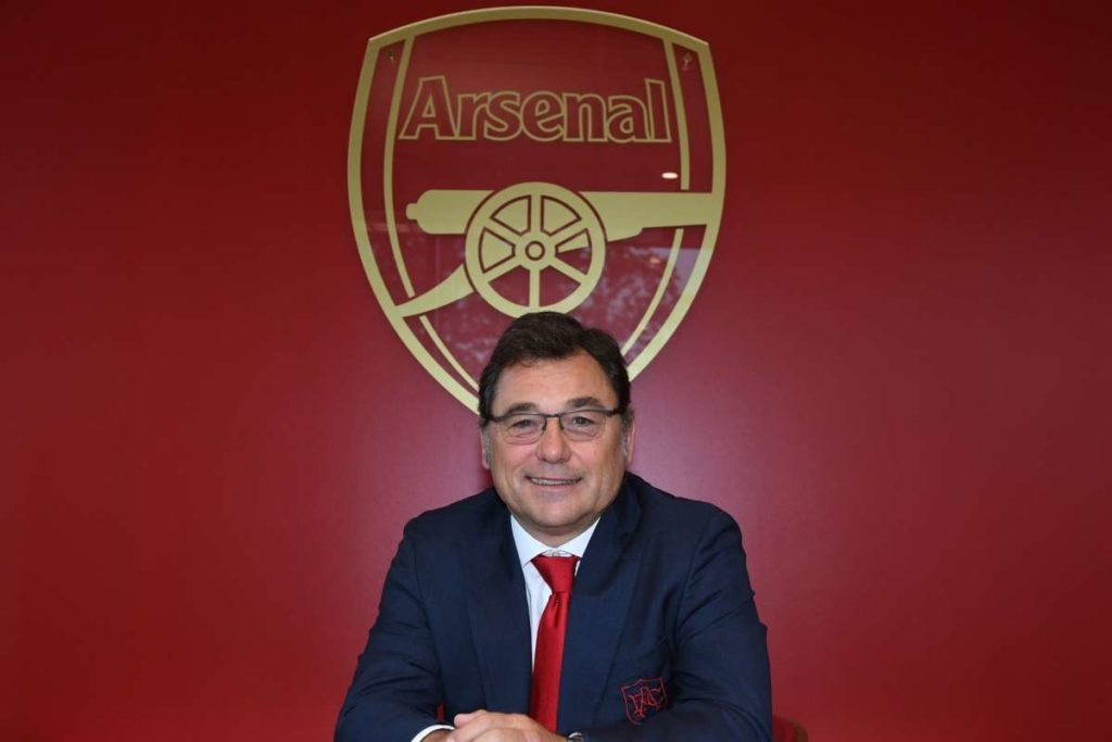 Sanllehi 'frustrated and powerless' but has 'no anger' after Arsenal departure